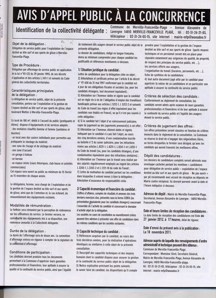 THE TAF POUR CE DEBUT D'ANNEE 2012