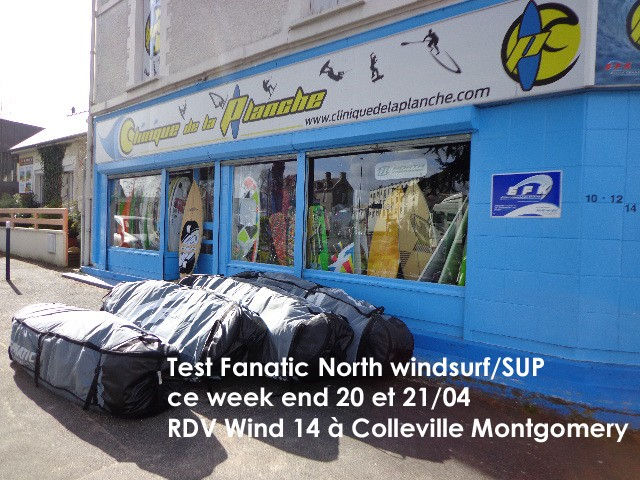 test windsurf et stand up paddle
