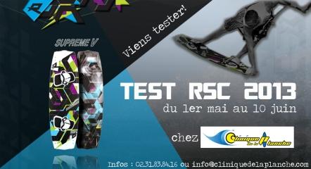 rsc supreme 5 test à la clinique de la planche