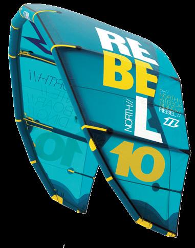North kiteboarding Rebel 2014 bleu