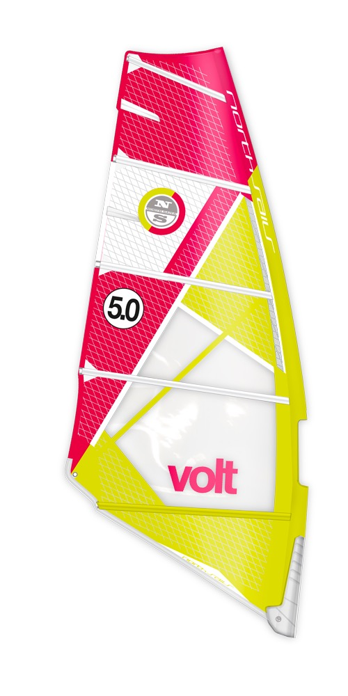 North Sails Volt 2017 Rouge et jaune