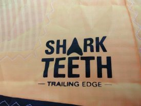Naish shark teeth 2018